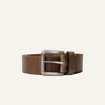 Roller Buckle Belt - Natural Chromexcel