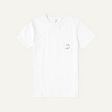 Staff Tee - White 100% Cotton Crewneck