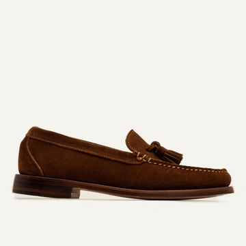 Tassel Loafer - Snuff Repello Suede