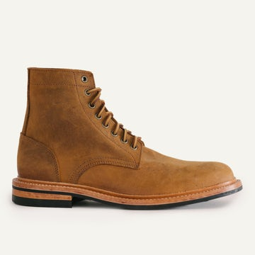 Trench Boot - Autumn Spice Waxed Kudu