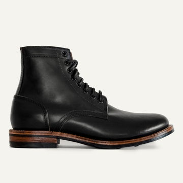 Trench Boot - Black Chromexcel