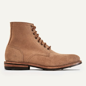 Trench Boot - Natural Rough-Out