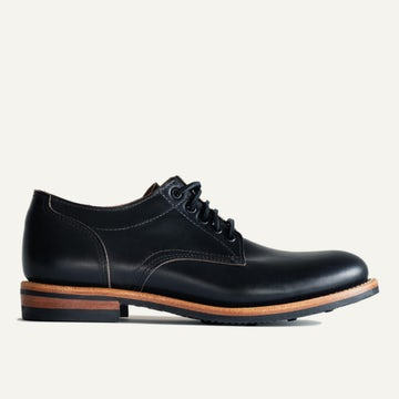 Trench Oxford - Black Chromexcel