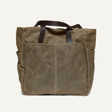 Utility Tote - Field Tan Waxed Canvas