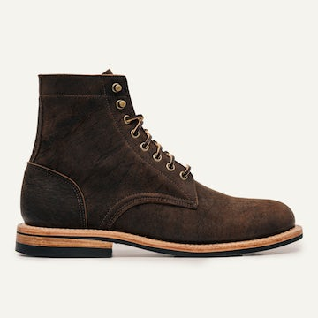 Trench Boot - Snuff Waxed Kudu