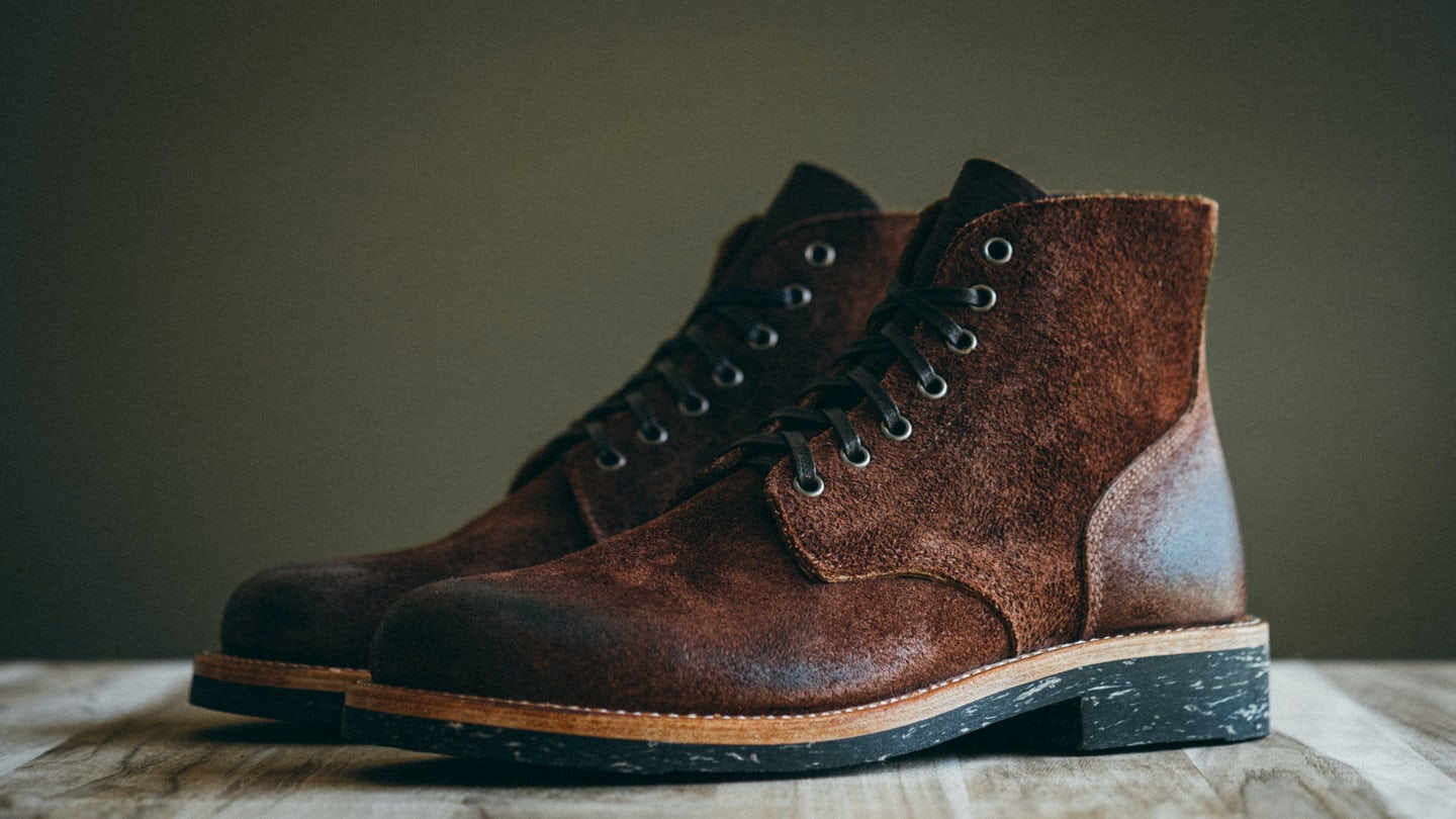Black Walnut Stampede Roughout Field Boot - Feature Image