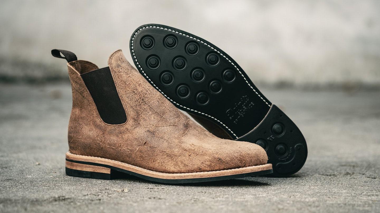 Cognac Mohawk 5504 Chelsea Boot - Feature Image