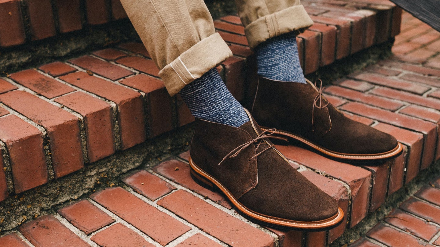 Indigo Abyss Anonymous ISM Crew Sock - Feature Image