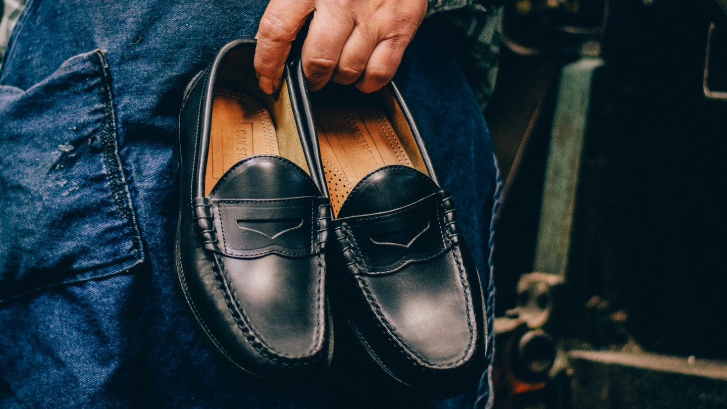Black Chromexcel Beefroll Penny Loafer - Feature Image