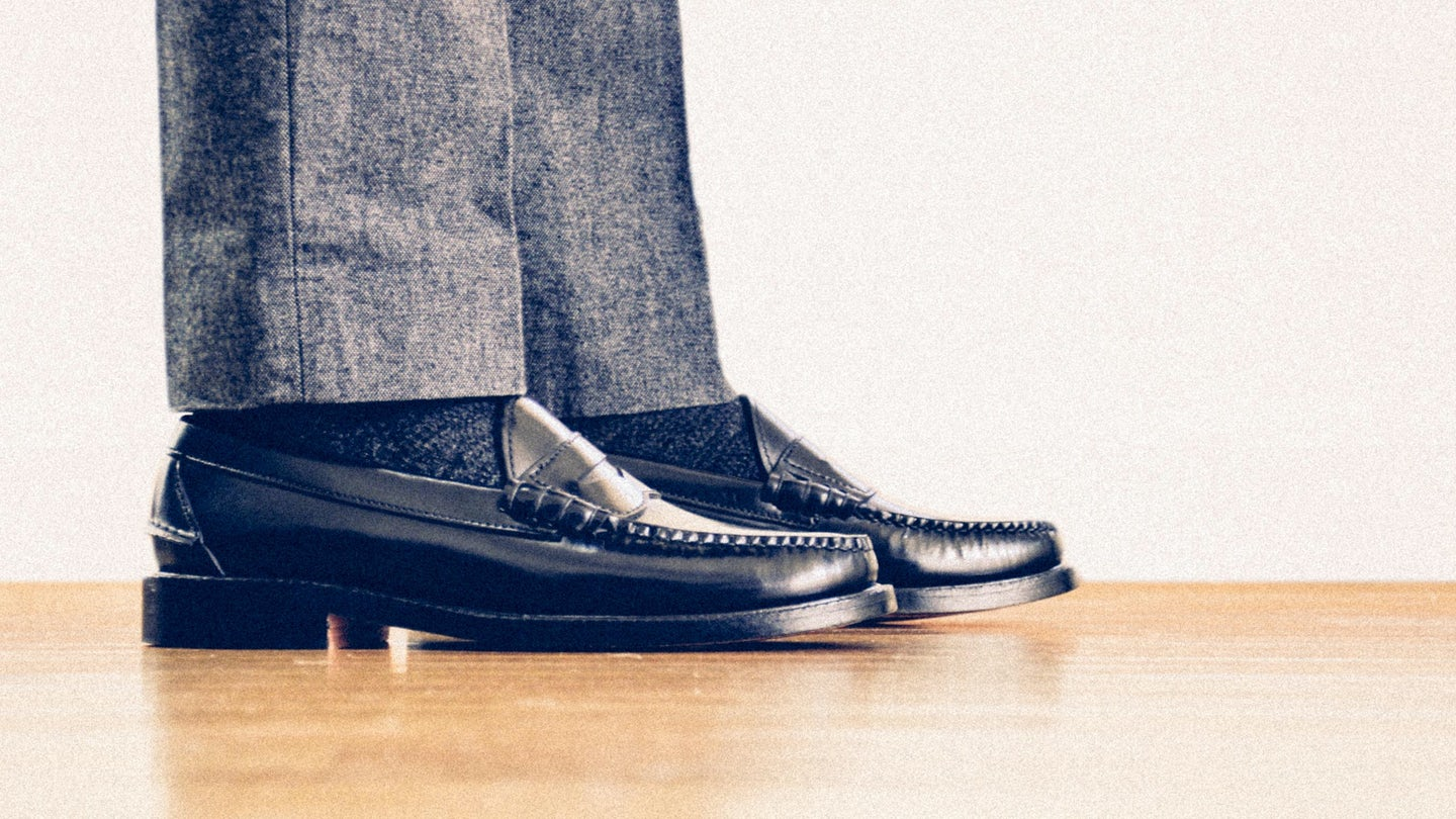 Black Espresso Beefroll Penny Loafer - Feature Image