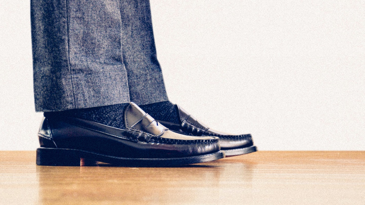 Oxblood Espresso Beefroll Penny Loafer - Feature Image