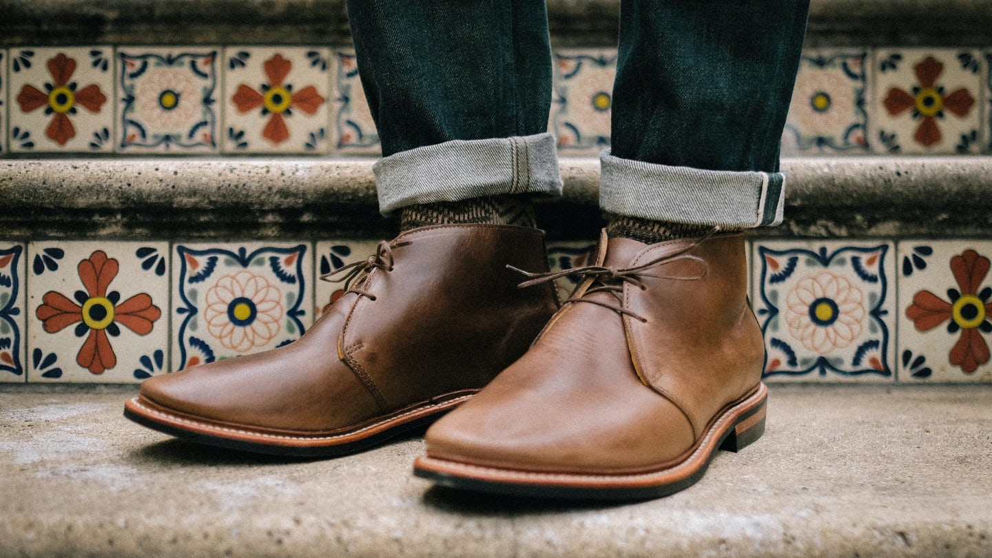Natural Chromexcel Campus Chukka - Feature Image