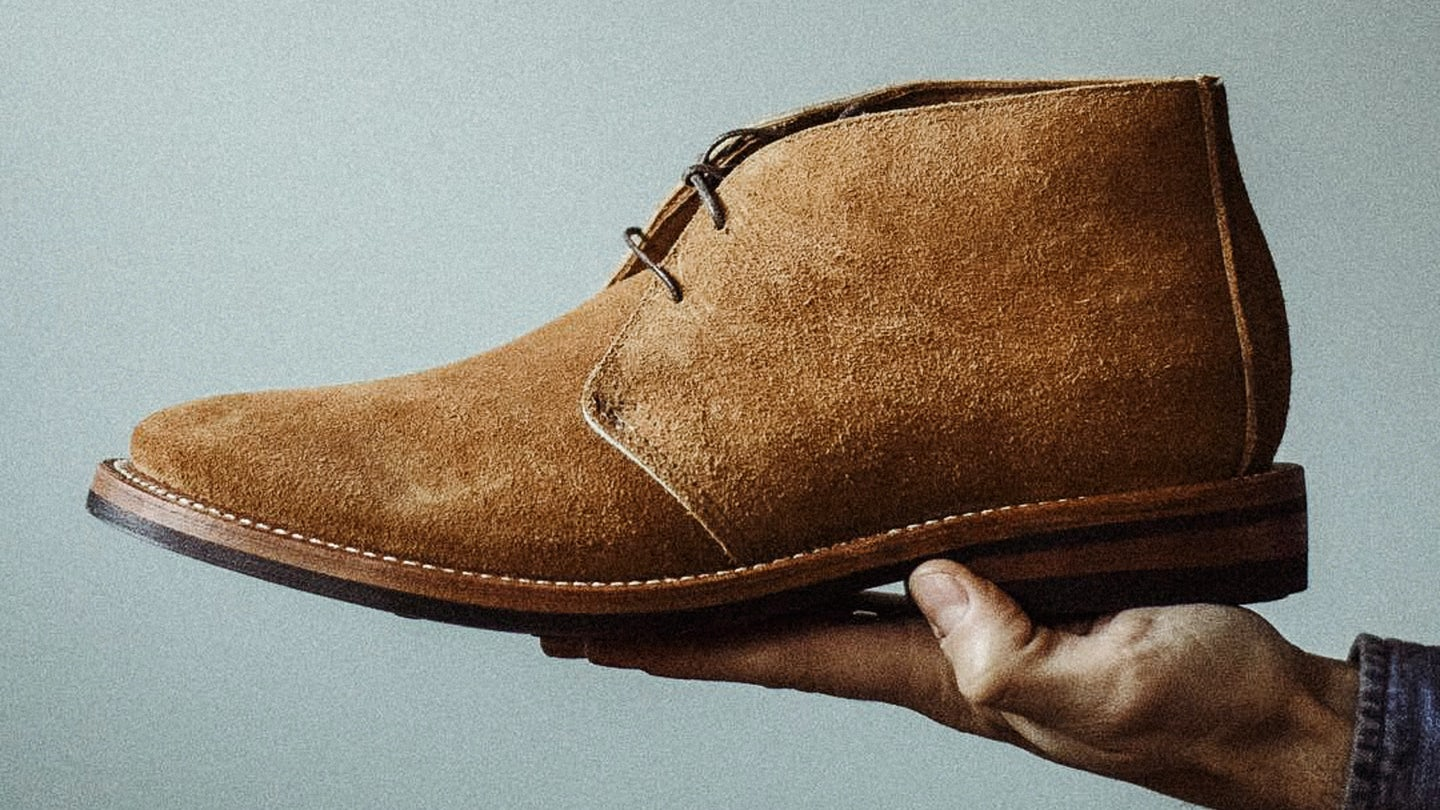 Peanut Orion Suede Campus Chukka - Feature Image