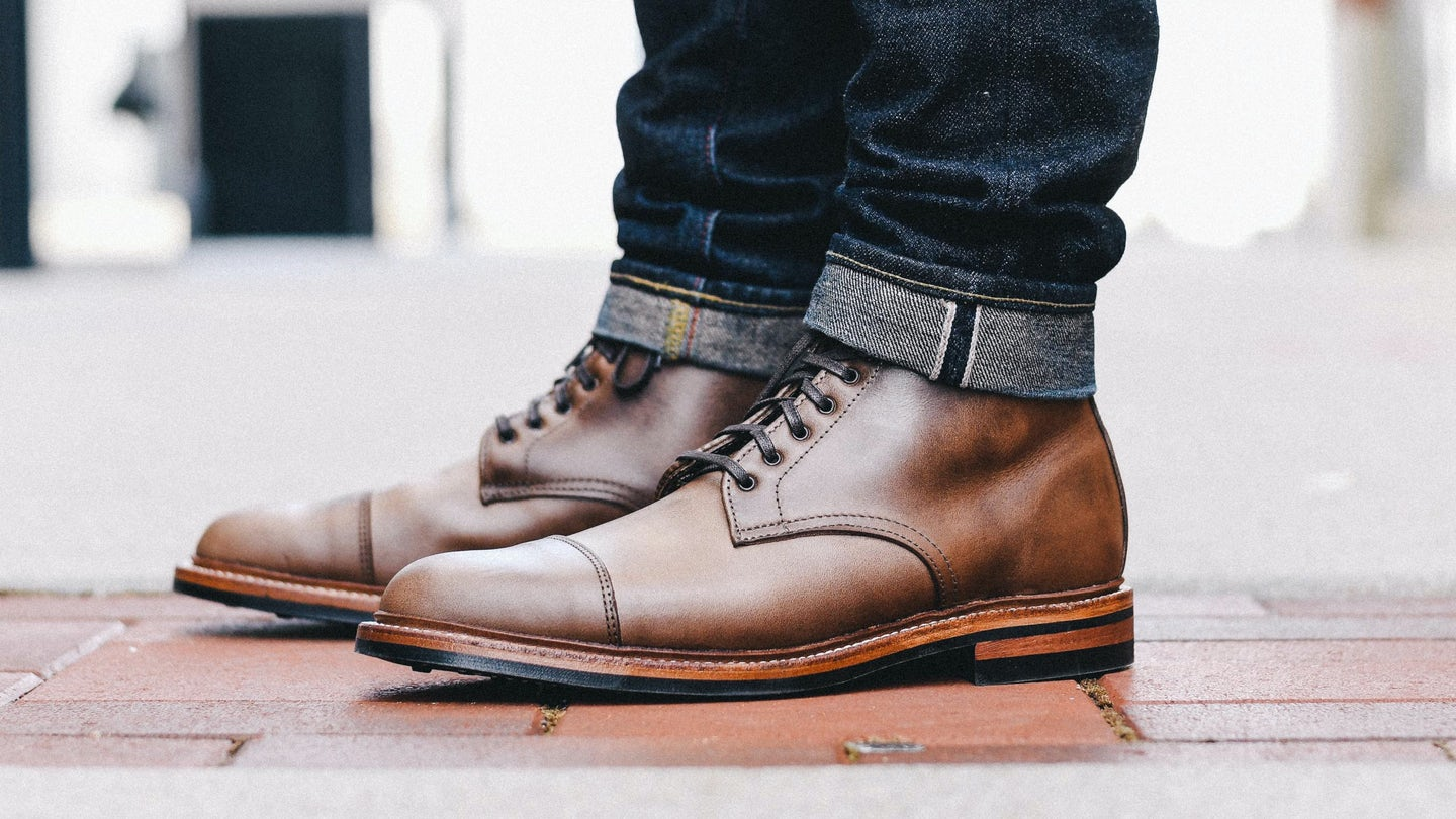 Natural Chromexcel Lakeshore Boot - Feature Image