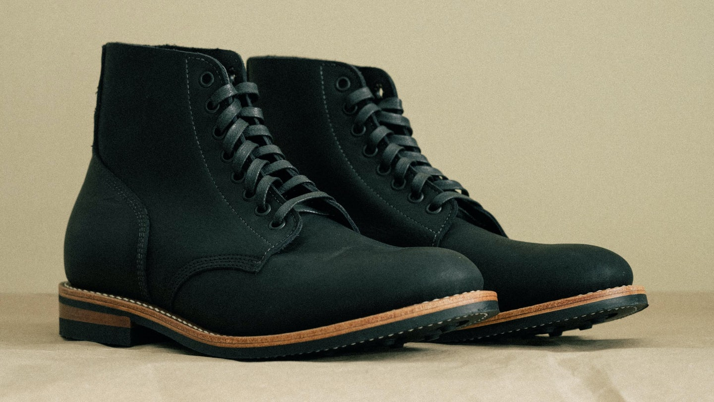 Black Oil Tan Field Boot - Feature Image