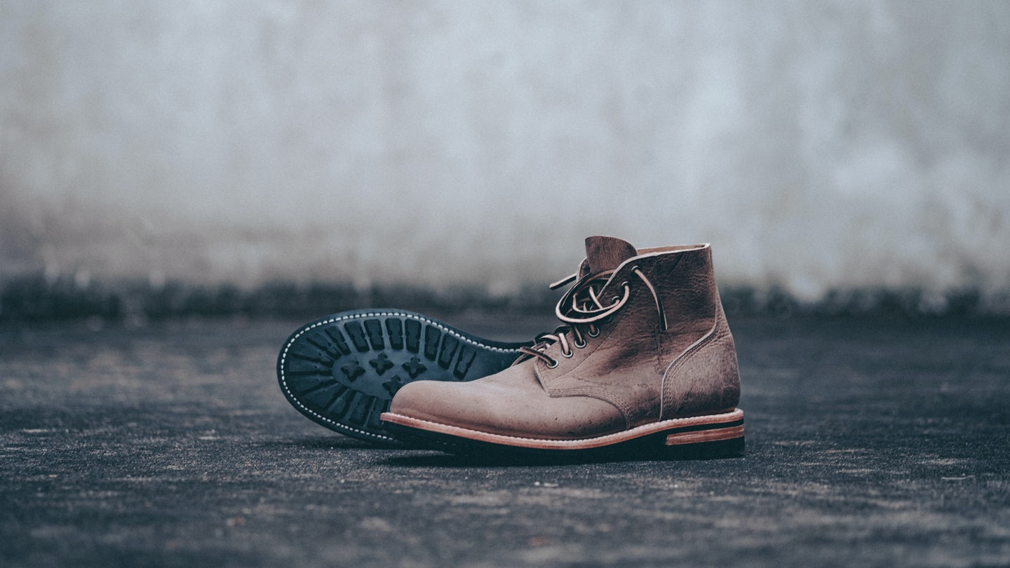 Gaucho Waxed Kudu Field Boot - Feature Image