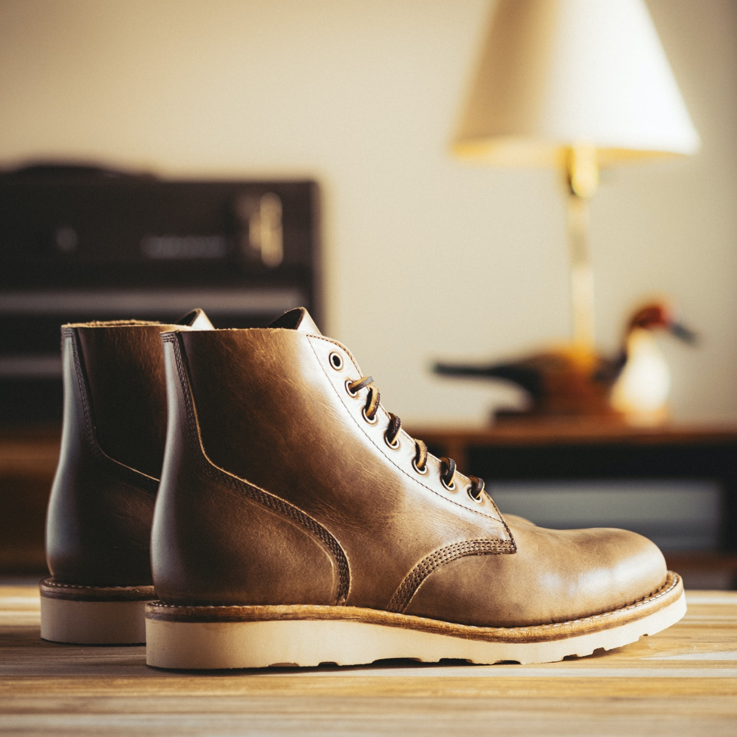 Natural Chromexcel Field Boot - Feature Image