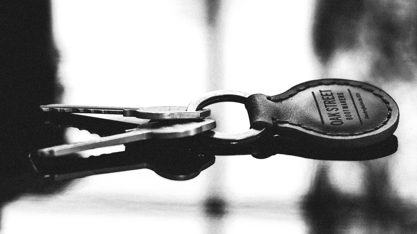Natural Chromexcel Key Fob - Feature Image