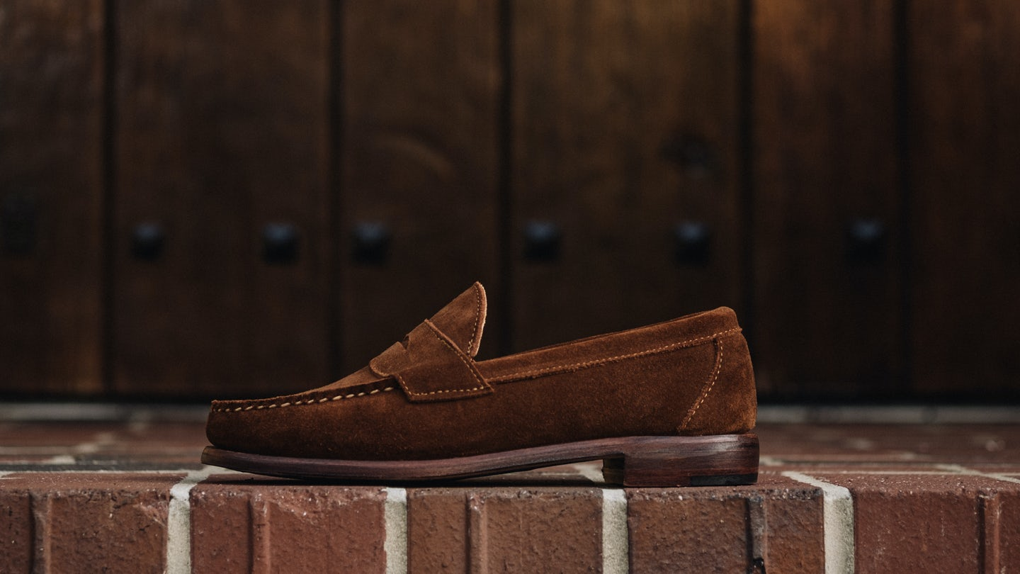 Snuff Repello Suede Penny Loafer - Feature Image