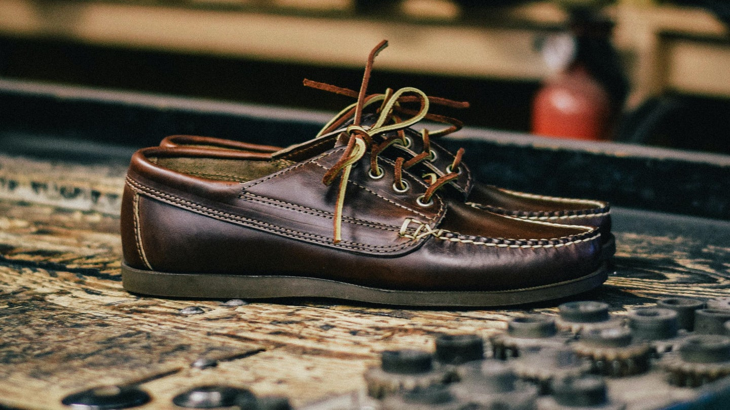 Brown Chromexcel Trail Oxford - Feature Image