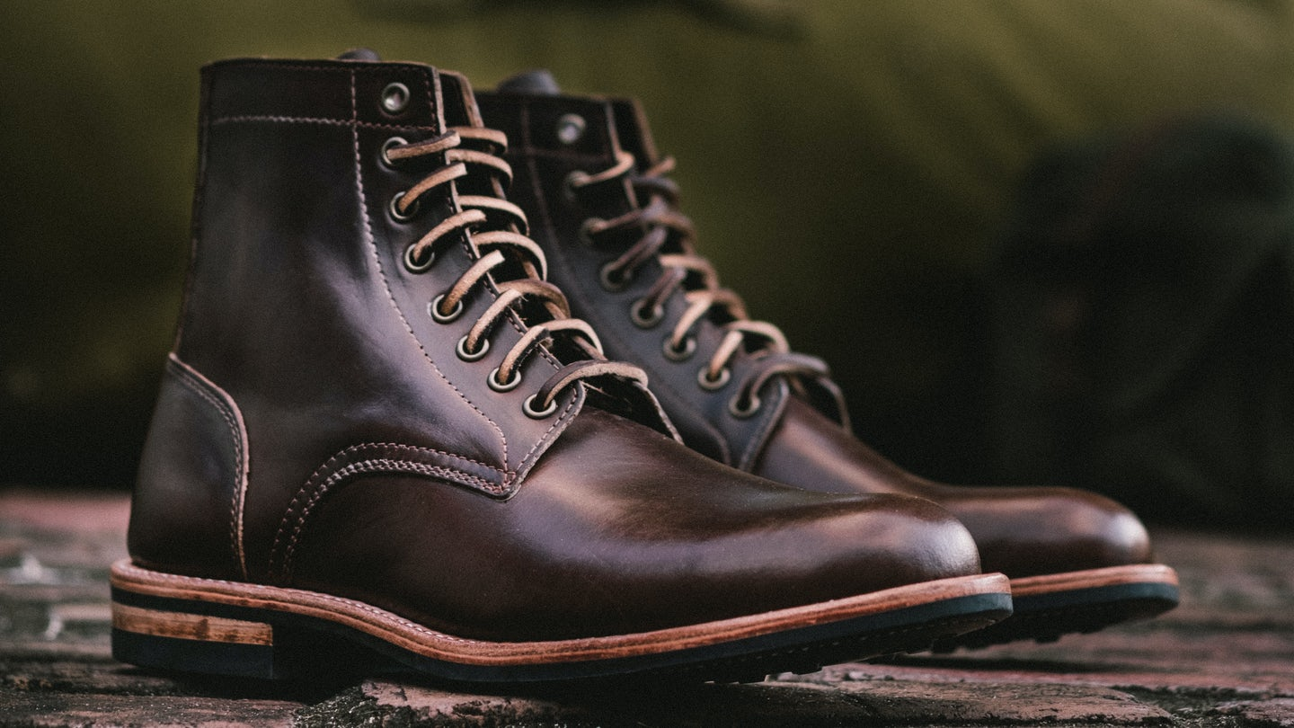 Brown Chromexcel Trench Boot - Feature Image
