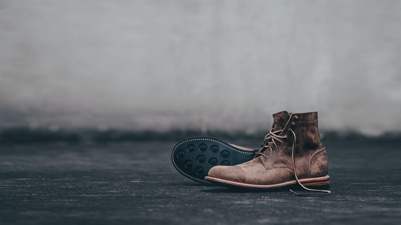 Teak Rambler Trench Boot - Feature Image