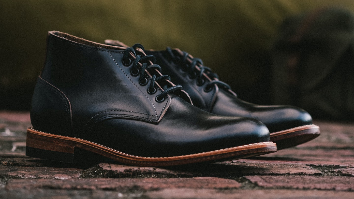 Black Chromexcel Trench Chukka - Feature Image