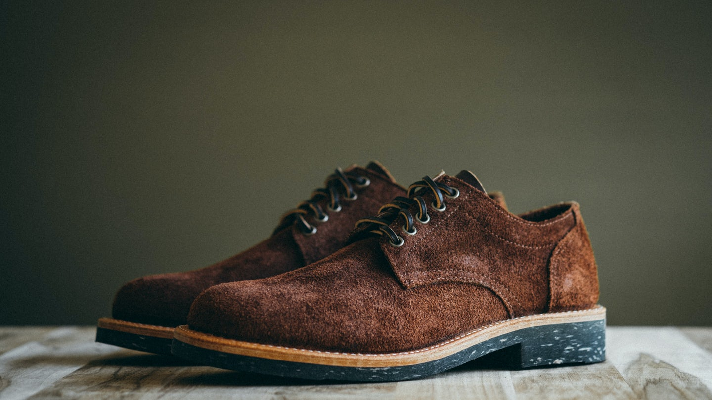 Black Walnut Stampede Roughout Trench Oxford - Feature Image