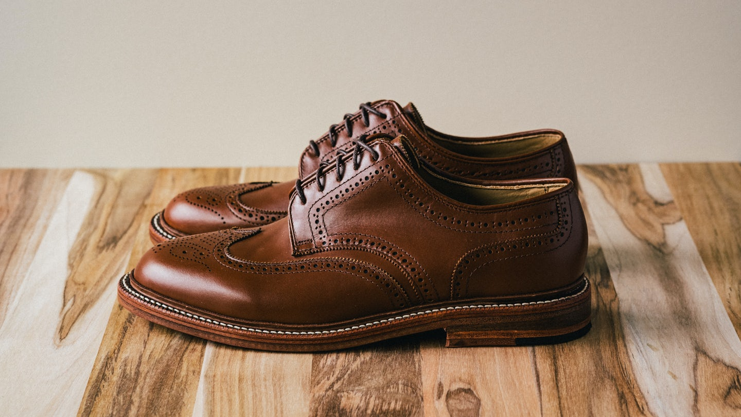 Cognac French Calf Wingtip - Feature Image