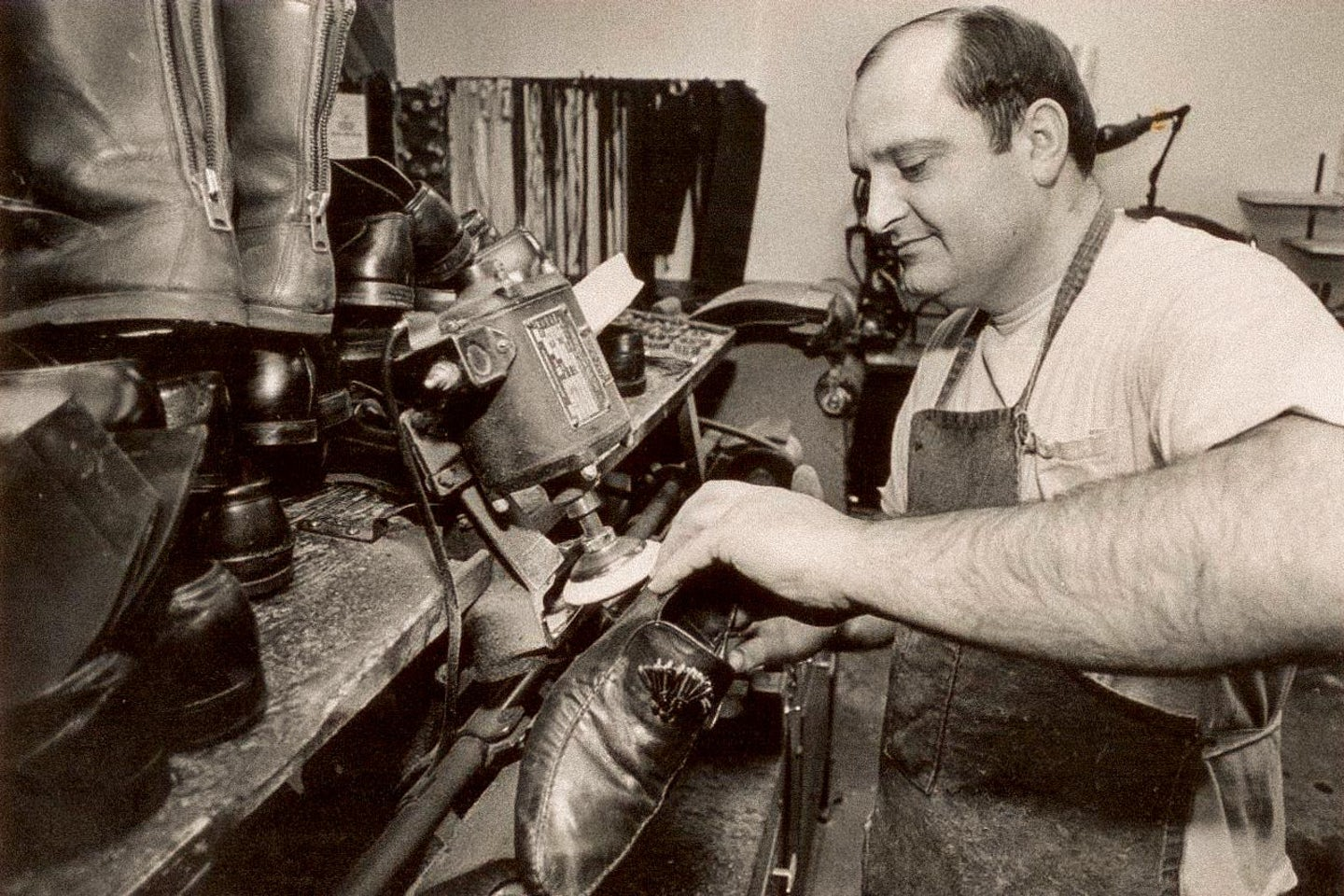 John Vlagos - Master Cobbler and Father of George Vlagos